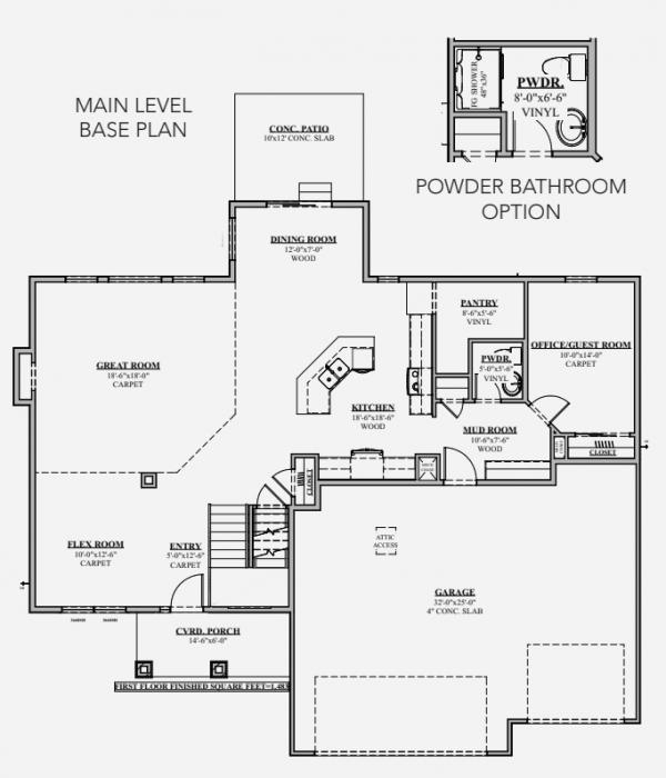 Santa Clara Floor Plan