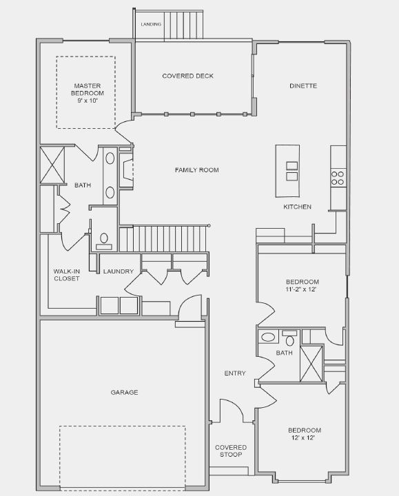 Niobrara Floor Plan